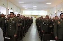Más de 500 militares inician el curso en Talarn