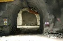 Paradas obras en Tres Ponts por impagos a la firma encargada de las galerías de evacuación