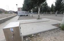 La CHE prohíbe dormir en el parking de caravanas de Balaguer al ser zona inundable