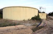 El dipòsit d'aigua de boca ubicat a Palou.