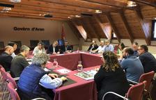 Pla d'usos del Conselh i CHE al costat de la Garona