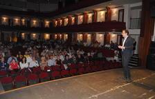 La charla se llevó a cabo en L'Amistat.
