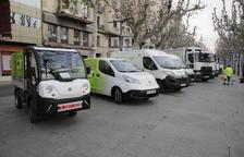 La concessionària de neteja va presentar l'any passat els nous vehicles.