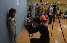 La primera audición del 'casting' fue ayer en el centro cultural Les Monges de la ciudad.