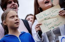 Thunberg porta les protestes ecologistes a la Casa Blanca