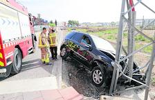 Heridos tres motoristas en Coll de Nargó y atropellan a una madre y a su hijo en Cervera
