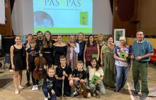 Castelldans acull la presentació del poemari 'Pas a Pas'