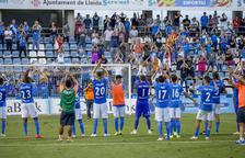 CRÓNICA. La primera victoria del Lleida en casa