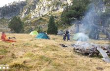 Nuevas multas por acampada ilegal en la periferia de Aigüestortes