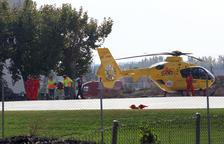 Salven la vida a un nadó amb el primer vol pediàtric nocturn de Lleida