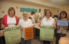 L'Associació Alzheimer Tàrrega i Comarca va presentar ahir els actes del dia mundial de la malaltia.