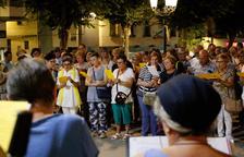 Cantaires de Lleida i Mollerussa demanen la llibertat dels presos a una sola veu
