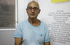 Ermengol Vila és un dels usuaris de l'Associació Alzheimer Tàrrega i Comarca.