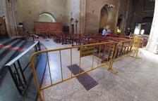 Segona fase de l'església a Almenar sense fer la primera