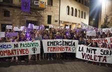 Gairebé un miler de persones es van manifestar ahir contra la violència masclista a la capital de l'Urgell.