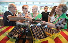 Productors de figa coll de dama d'Alguaire avalen el segell IGP