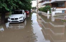 Un home mor durant un episodi de fortes tempestes a Girona