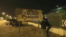 Condenado por arrancar lazos amarillos en Balaguer