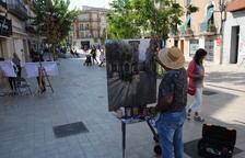 Concurs de pintura ràpida a Mollerussa