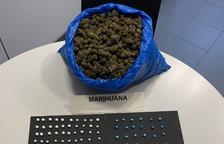Detingut a Lleida per vendre cocaïna i heroïna, que amagava a la boca