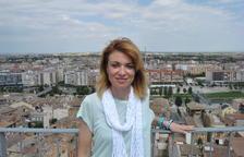 La alcaldesa de Camarasa, Elisabet Lizaso, vicepresidenta de la AMI
