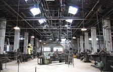 Una fàbrica aturada en el temps