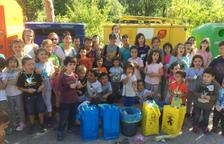 Alumnos de La Vall de Boí, en lucha contra el cambio climático