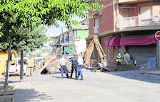 Desalojados en Almacelles por una perforación en una tubería de gas