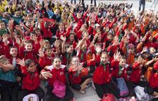 Más de 200 escolares se convierten en magos en Montgai