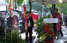 París rinde homenaje a la lucha de Neus Català