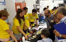 Alumnos del Torre Vicencs, en un congreso internacional de ciencia