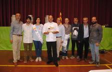 Premio al chef Joël Castanyé en El Palau