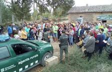 Los Agentes Rurales liberan 14 aves rapaces en la Noguera