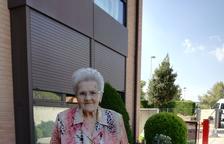 Mor als 108 anys l''àvia' de Manresa, natural d'Alcampell