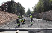Obras en el Canal d'Urgell para rehacer 650 metros del Principal por filtraciones
