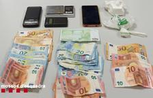 Arrestat a Tremp per traficar amb cocaïna