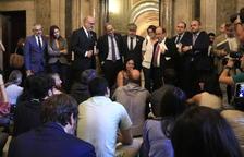Torra deixa a Parlament i ciutadans la resposta a la sentència de l'1-O