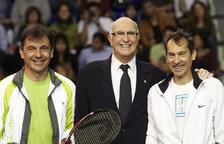 Mor Andrés Gimeno, guanyador de Roland Garros el 1972