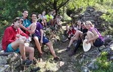 Voluntaris reobren camins històrics de la vall de Siarb
