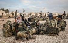 La ofensiva turca provoca 100.000 desplazados