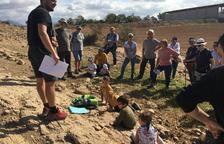 Visita guiada al jaciment de restes de dinosaure d'Isona