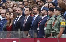 """Los reyes presiden un 12-O marcado por la inminencia de la sentencia del """"procés"""""""