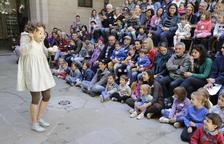 Un dels espectacles de la passada Fira de Titelles de Lleida, festival que 'suma' a l'índex cultural.