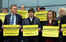 Puigdemont reclama els seus drets polítics