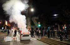 Batalla campal a Lleida en protesta per la sentència