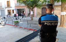 Imatge d'un dels policies locals de Guissona.
