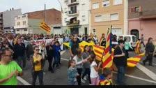Comença la manifestació a Mollerussa