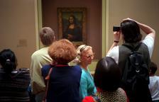 El quadre de 'La Gioconda' és l'obra més important de l'exposició.