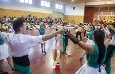 Preixana celebra con diez 'colles' su concurso de sardanas