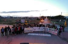 Jornada de protestes a comarques amb concentracions i marxes lentes